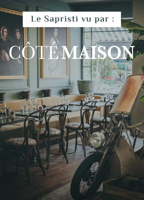 Sapristi vu par la presse – Côté Maison.fr