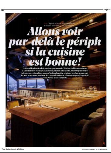 Les Bistrots Pas Parisiens vu par la presse – Vivre Paris